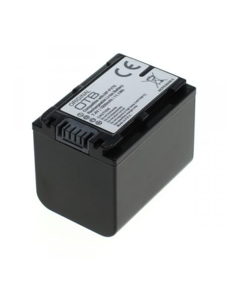 CE zertifiziert Akku, Ersatzakku ersetzt Sony NP-FV70 Li-Ion