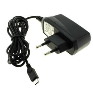 Ladegerät / Netzteil Micro-USB - 1A - schwarz