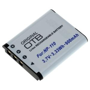 Ersatzakku ersetzt Casio NP-110 / JVC BN-VG212 Li-Ion