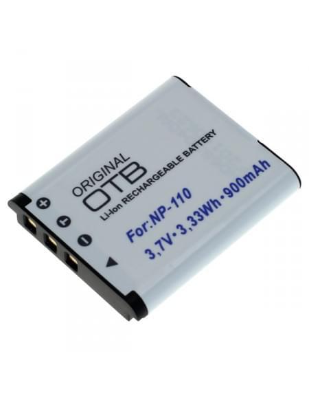 CE zertifiziert Akku, Ersatzakku ersetzt Casio NP-110 / JVC BN-VG212 Li-Ion