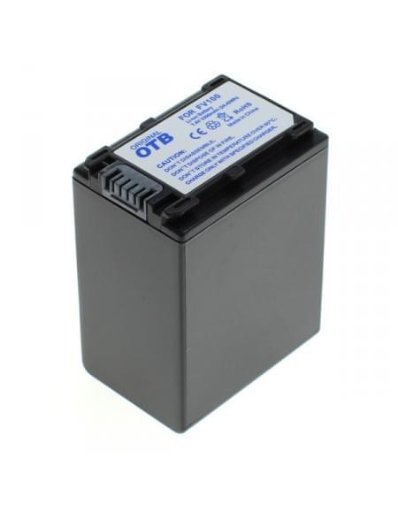 CE zertifiziert Akku, Ersatzakku ersetzt Sony NP-FV100 Li-Ion