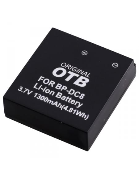 CE zertifiziert Akku, Ersatzakku ersetzt Leica BP-DC8 Li-Ion