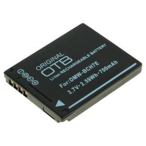 Ersatzakku ersetzt Panasonic DMW-BCH7E Li-Ion