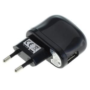 Ladeadapter USB - 2,1A - schwarz - z.B. für Apple iPad