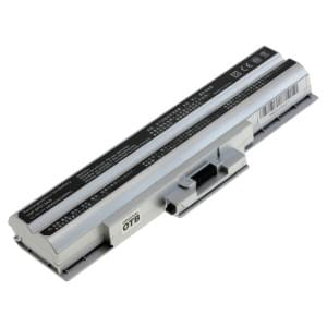 Ersatzakku ersetzt Sony VGP-BPS13 / BPS13A / BPS13B Li-Ion 4400mAh silber