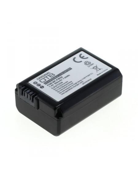 CE zertifiziert Akku, Ersatzakku ersetzt Sony NP-FW50 Li-Ion