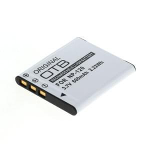 Ersatzakku ersetzt Casio NP-120 Li-Ion