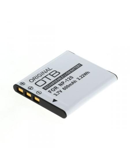 CE zertifiziert Akku, Ersatzakku ersetzt Casio NP-120 Li-Ion