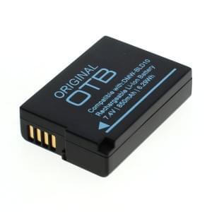 Ersatzakku ersetzt Panasonic DMW-BLD10 Li-Ion