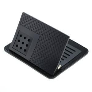Anti-Rutschmatte 12 x 9.8cm mit Winkelhalter schwarz
