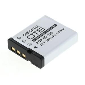 Ersatzakku ersetzt Casio NP-130 Li-Ion