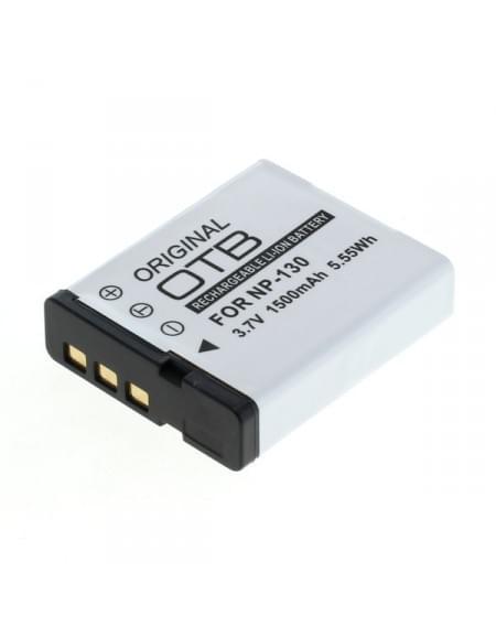 CE zertifiziert Akku, Ersatzakku ersetzt Casio NP-130 Li-Ion