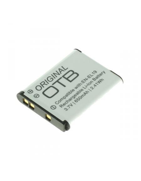 CE zertifiziert Akku, Ersatzakku ersetzt Nikon EN-EL19 Li-Ion