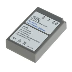 Ersatzakku ersetzt Olympus BLS-5 / BLS-50 Li-Ion