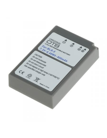 Akku, Ersatzakku ersetzt Olympus BLS-5 / BLS-50 Li-Ion