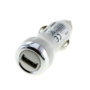 KFZ-Ladeadapter USB - 2A - weiß - TINY