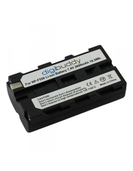 Akku, Ersatzakku ersetzt Sony NP-F550 Li-Ion