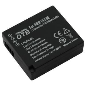 Ersatzakku ersetzt Panasonic DMW-BLE9 / DMW-BLG10 Li-Ion