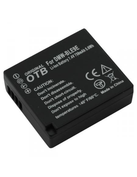 CE zertifiziert Akku, Ersatzakku ersetzt Panasonic DMW-BLE9 / DMW-BLG10 Li-Ion