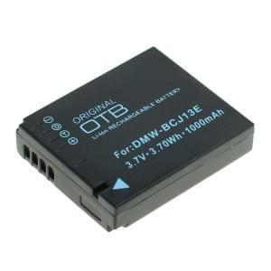 Ersatzakku ersetzt Panasonic DMW-BCJ13E Li-Ion