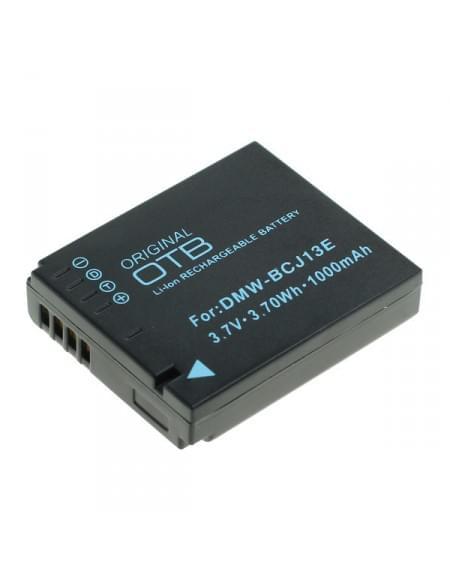 CE zertifiziert Akku, Ersatzakku ersetzt Panasonic DMW-BCJ13E Li-Ion