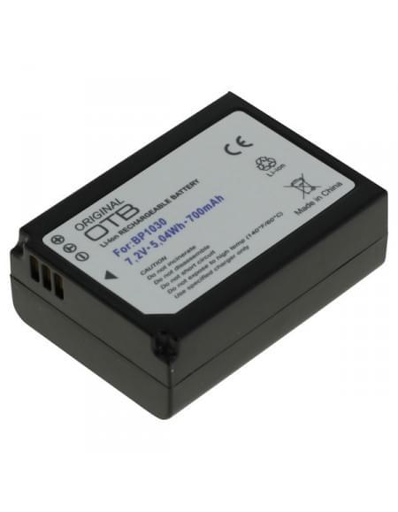 Akku, Ersatzakku ersetzt Samsung BP1030 / BP1130 Li-Ion