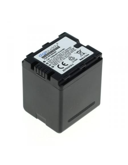 CE zertifiziert Akku, Ersatzakku ersetzt Panasonic VW-VBN260 Li-Ion 2100mAh