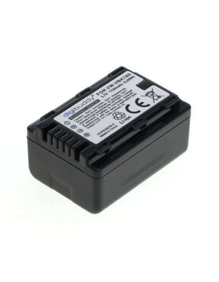 CE zertifiziert Akku, Ersatzakku ersetzt Panasonic VW-VBK180 Li-Ion