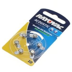 Rayovac Batterie Hörgerätebatterie HA10