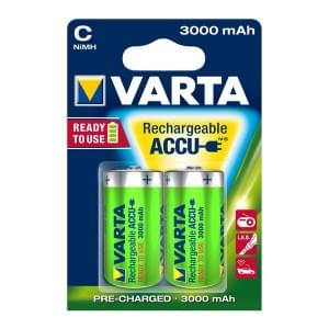 Varta Akku Power Accu Baby C Ready 2 Use NiMH 3000mAh 56714 - 2er-Blister