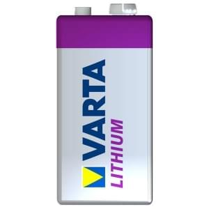 Varta Batterie Professional Lithium 9V E-Block 6122