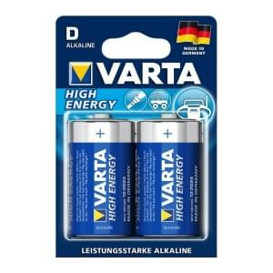 Varta Batterie High Energy D Mono 4920 - 2er-Blister