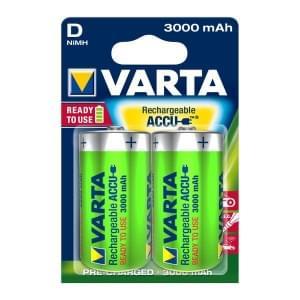 Varta Akku Power Accu Mono D Ready 2 Use NiMH 3000mAh 56720 - 2er-Blister