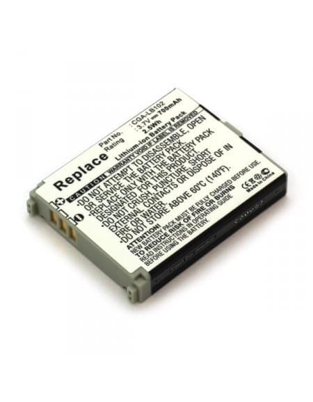 CE zertifiziert Akku, Ersatzakku ersetzt Panasonic CGA-LB102 Li-Ion
