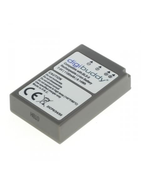CE zertifiziert Akku, Ersatzakku ersetzt Olympus BLS-5 / BLS-50 Li-Ion