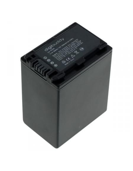 Akku, Ersatzakku ersetzt Sony NP-FH100 / NP-FP90 Li-Ion