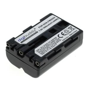 Ersatzakku NP-FM500H für Sony Alpha 1600mAh Li-Ion