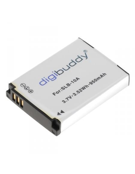 CE zertifiziert Akku, Ersatzakku ersetzt Samsung SLB-10A / JVC BN-VH105 Li-Ion