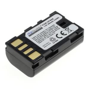 Ersatzakku ersetzt JVC BN-VF808 Li-Ion