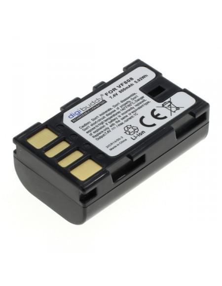 CE zertifiziert Akku, Ersatzakku ersetzt JVC BN-VF808 Li-Ion