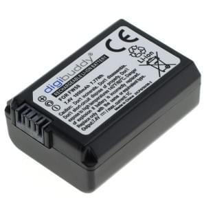 Ersatzakku ersetzt Sony NP-FW50 Li-Ion