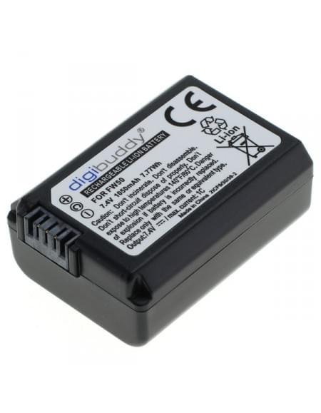 Akku, Ersatzakku ersetzt Sony NP-FW50 Li-Ion
