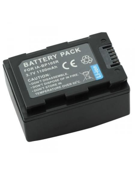 CE zertifiziert Akku, Ersatzakku ersetzt Samsung IA-BP105R Li-Ion