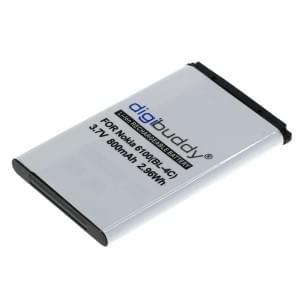 Ersatzakku für Nokia 6100 / 6101 / 3650 / 6230 ersetzt BL-4C Li-Ion