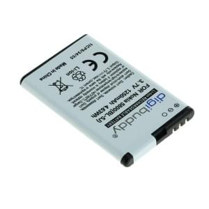 Ersatzakku für Nokia 5800 Xpress / N900 / X6 / C3 ersetzt BL-5J Li-Ion