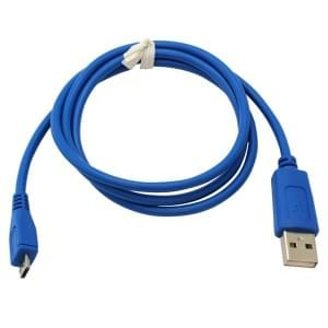 Datenkabel Micro-USB - 0,95m - blau