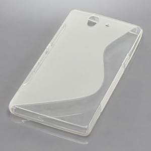 Silikon Case / Schutzhülle für Sony Xperia Z S-Curve transparent