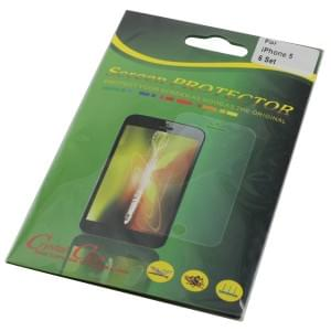 Displayschutzfolie für Apple iPhone 5 / 5S / SE back / front