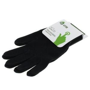 Touchscreen Handschuhe für kapazitive Touchdisplays - Touch Gloves - Größe L - schwarz