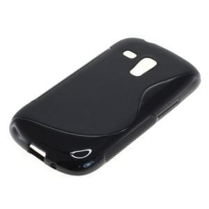 Silikon Case / Schutzhülle für Samsung Galaxy S III Mini S-Curve schwarz